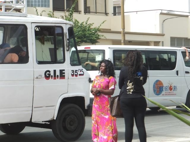 On the street in Dakar