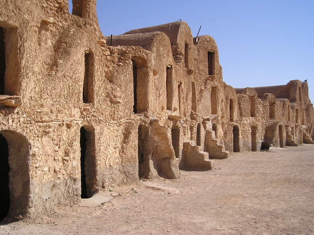 Caravanserai Used as Star Wars Set